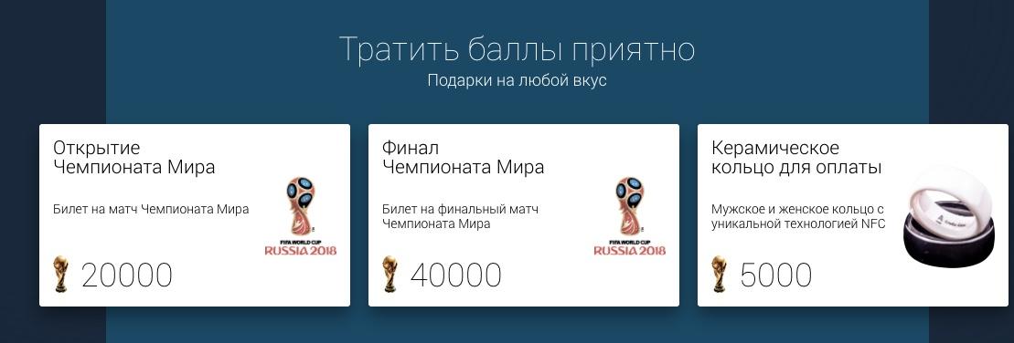 Альфа-Банк ФИФА 2018 баллы