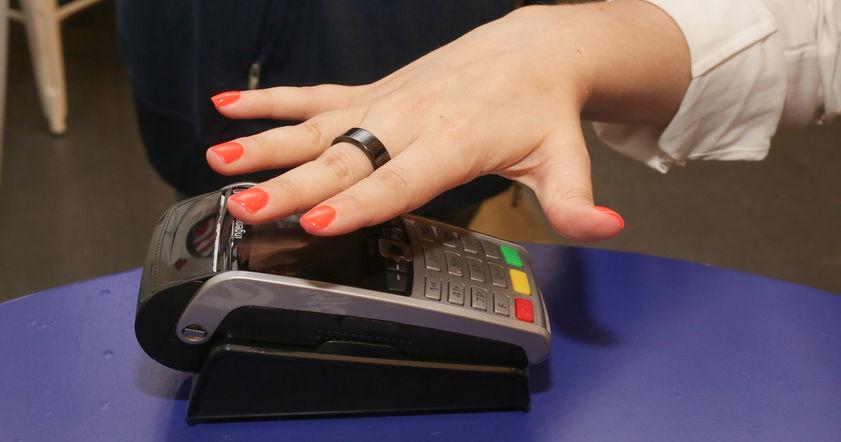 Альфа-Банк кольцо paypass